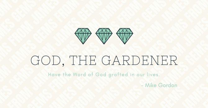 God, the Gardener image