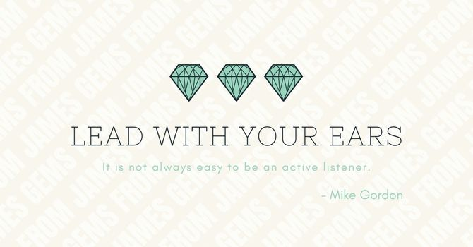 Lead With Your Ears image