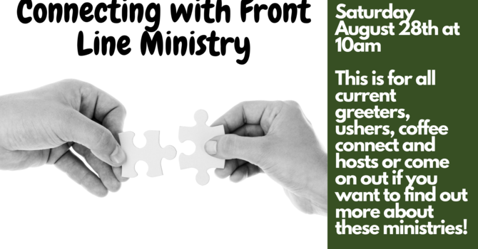 Connecting with Front Line Ministry