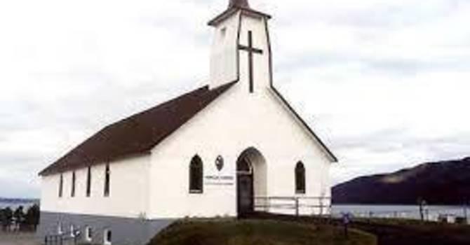 Topsail United Church, Conception Bay, Newfoundland