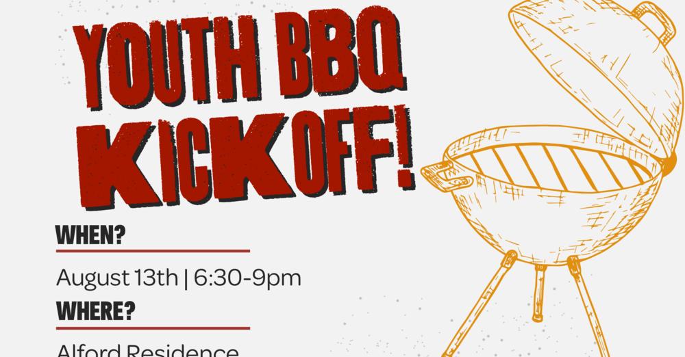 Youth Ministry Fall BBQ Kickoff