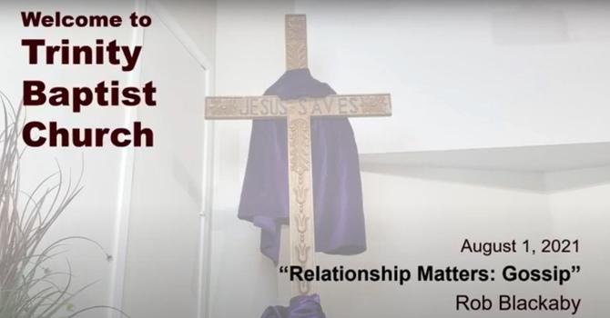 Relationship Matters: Gossip