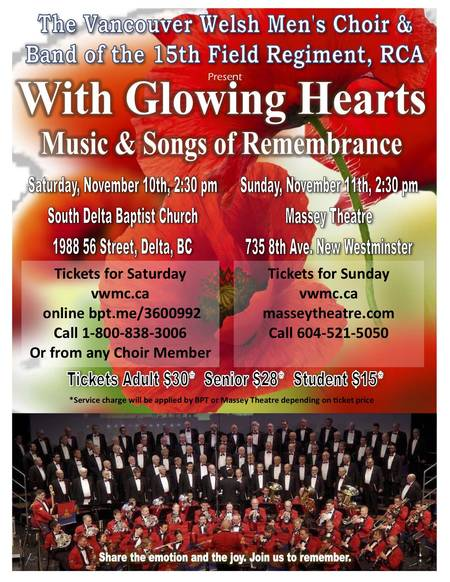 With Glowing Hearts - Concert