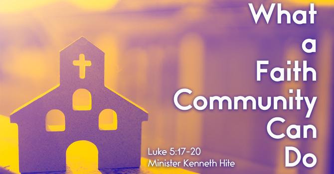 What A Faith Community Can Do