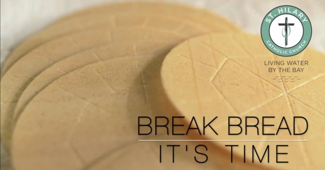 Break Bread Week #5
