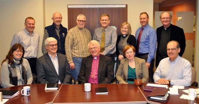 The Venerable Ronald Harrison's Last Archdeacon's Meeting image
