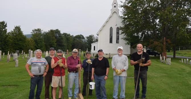 Christ Church Cemetery Work Crew August 4, 2021 image