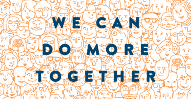 We Can Do More Together image