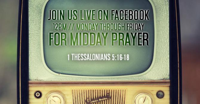 Midday Prayer returns soon!  image