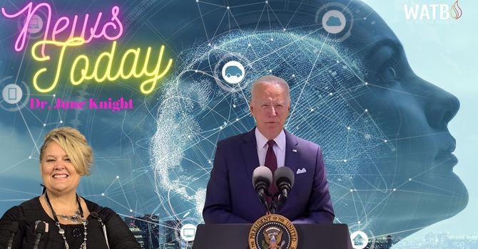 NEWS TODAY - President Biden Speaks @ COVID - White House Evictions, etc. image