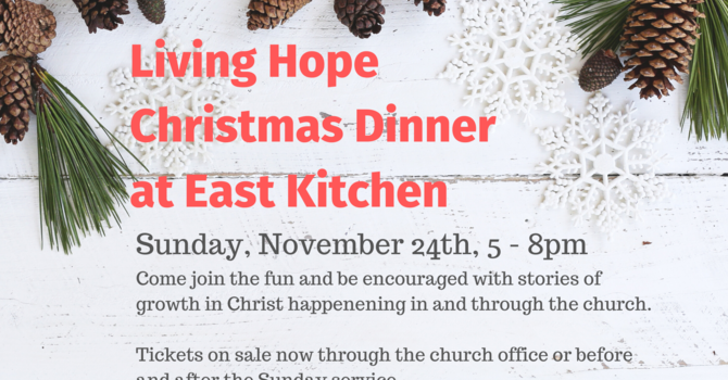Living Hope Christmas Banquet