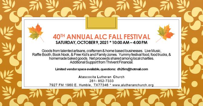 40th Annual ALC Fall Festival 2021