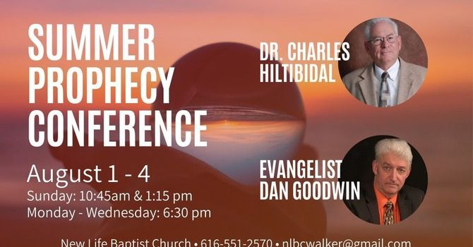 Prophesy Conference - Wednesday