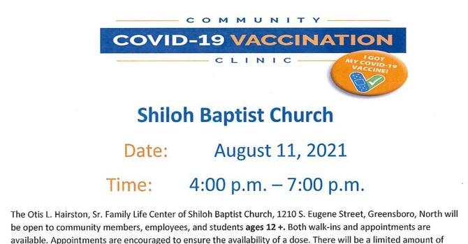 COVID-19 Vaccination Clinic image