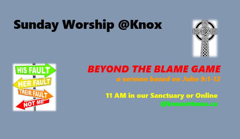 Beyond the Blame Game