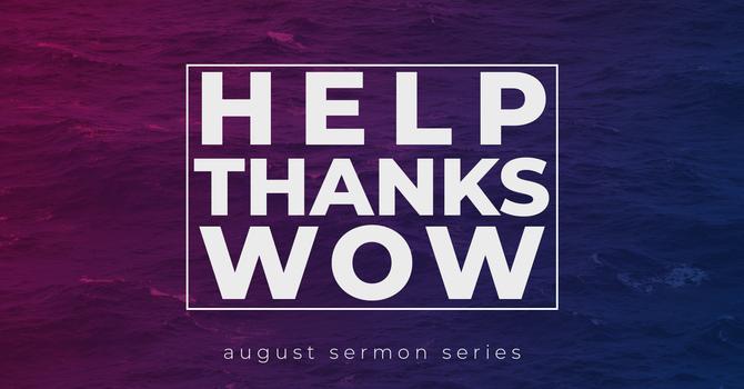 Help. Thanks. Wow. - A Primer of Prayer (6)
