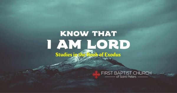 Know that I AM LORD