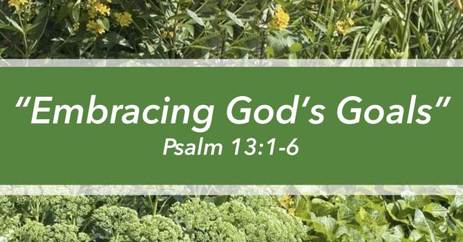 Embracing God's Goals