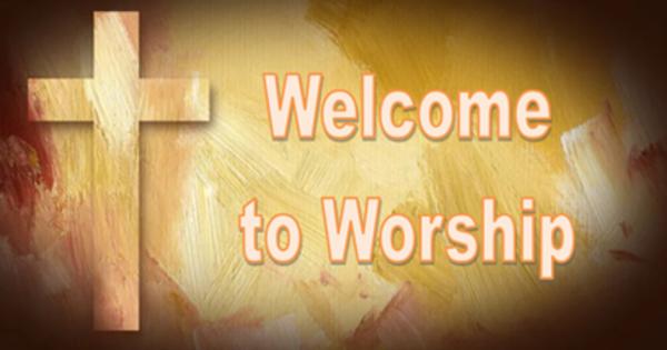 Sunday Worship Schedule