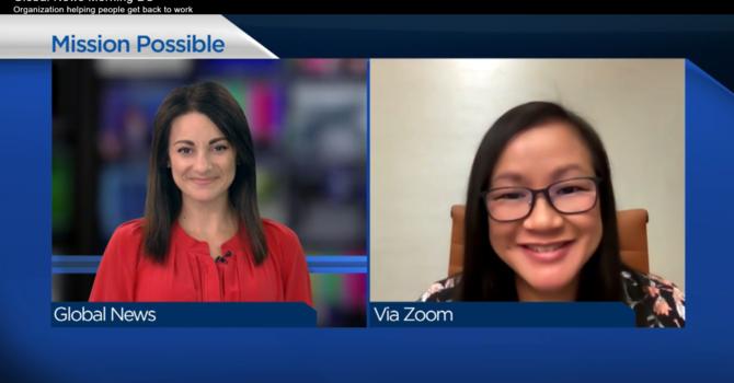 Jasmine Allen Talks with Global News Morning BC image