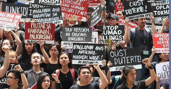 Letters to MPs Regarding Human Rights Violations - Philippines image