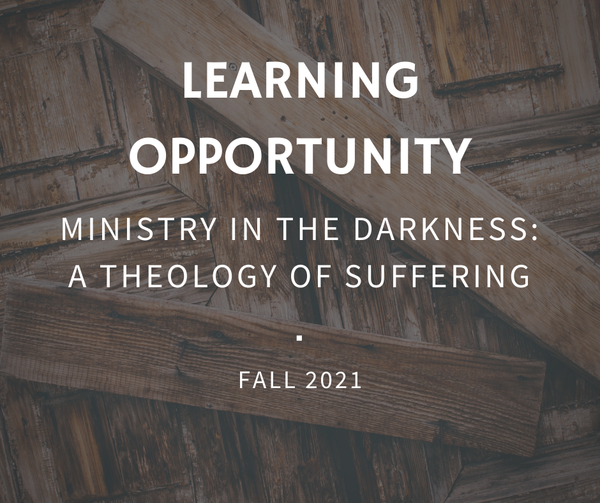 Wycliffe Fall Course with the Rev. Dr. Cole Hartin