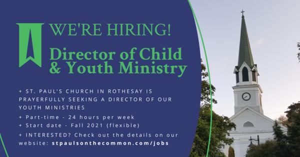Job vacancy, Parish of Rothesay