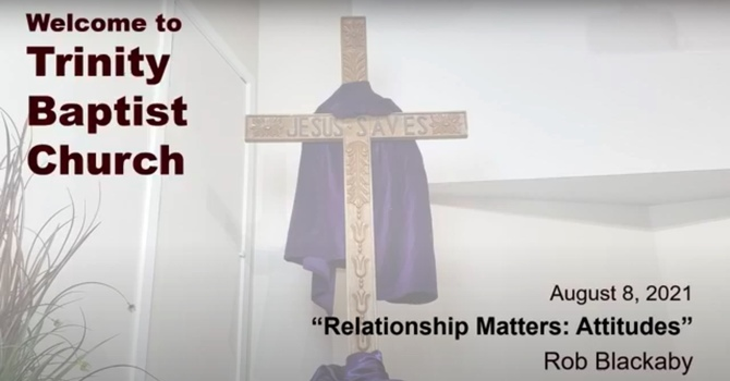Relationship Matters: Attitudes