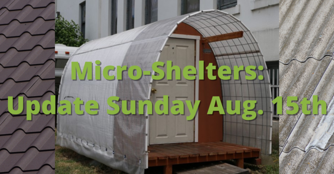 Micro-Shelter Update image