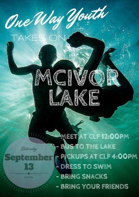 One Way Youth takes on McIver Lake