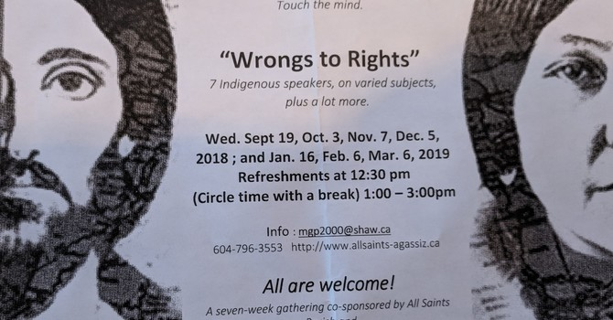 WRONGS to RIGHTS Gathering Circle - New  Series