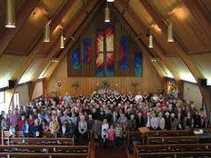 St catherines capilano congregation in the sanctuary