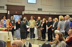 Bishop melissa commissions the newly elected
