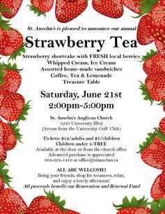 Strawberry tea 2014