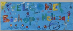 1 a banner made by the younger members of nv deanery