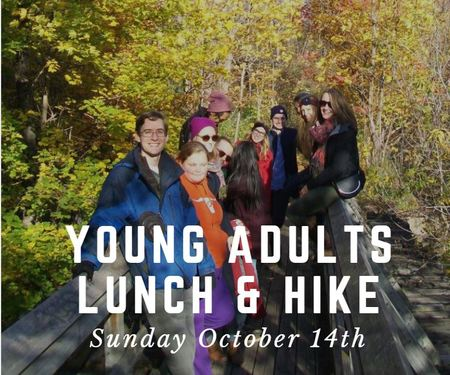 Young Adults Lunch and Hike
