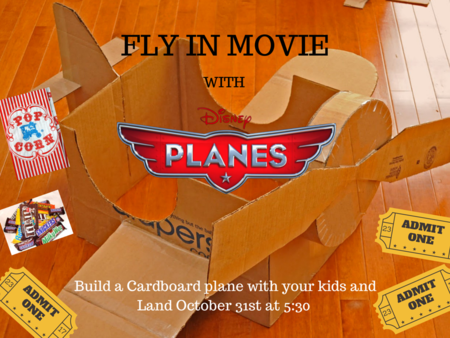 Fly in movie!