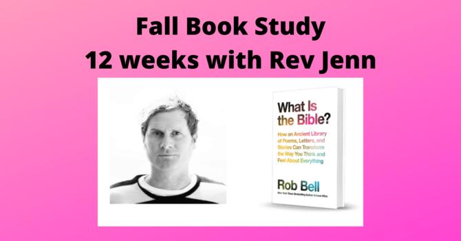 Fall Book Study - Sep 29 to Dec 15