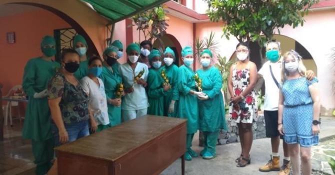 A Field Hospital in Cuba image