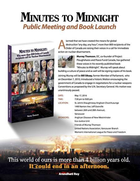 Minutes to Midnight - Book Launch
