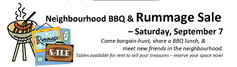St m and st l rummage sale and barbecue