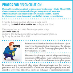 Photos for reconciliation promo