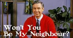 Wont you be my neighbour
