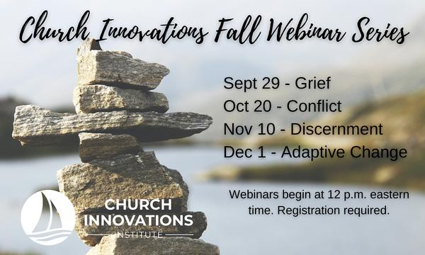 Church Innovations: Fall 2021 Webinar Series
