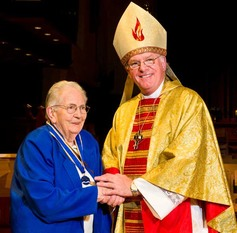 Mollie ashworth and bishop michael