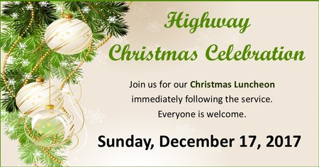 Highway Christmas Luncheon