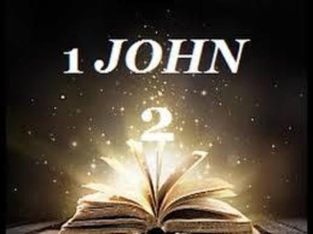 1 John Chapter 2