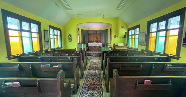 St. John's, Sedgewick Hosts Community Church Service at Iron Creek Museum