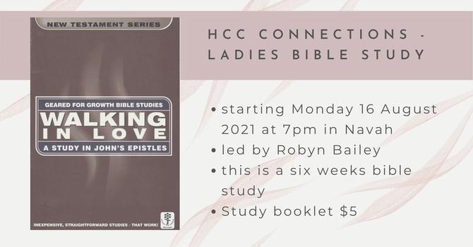 Ladies Bible Study - postponed