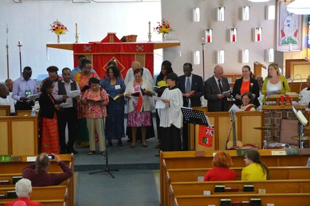 Pentecost celebrations